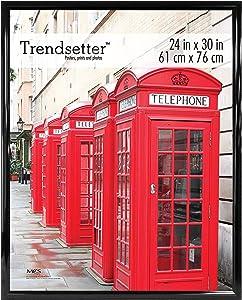 MCS Trendsetter Frame, 24 x 30 in, Black