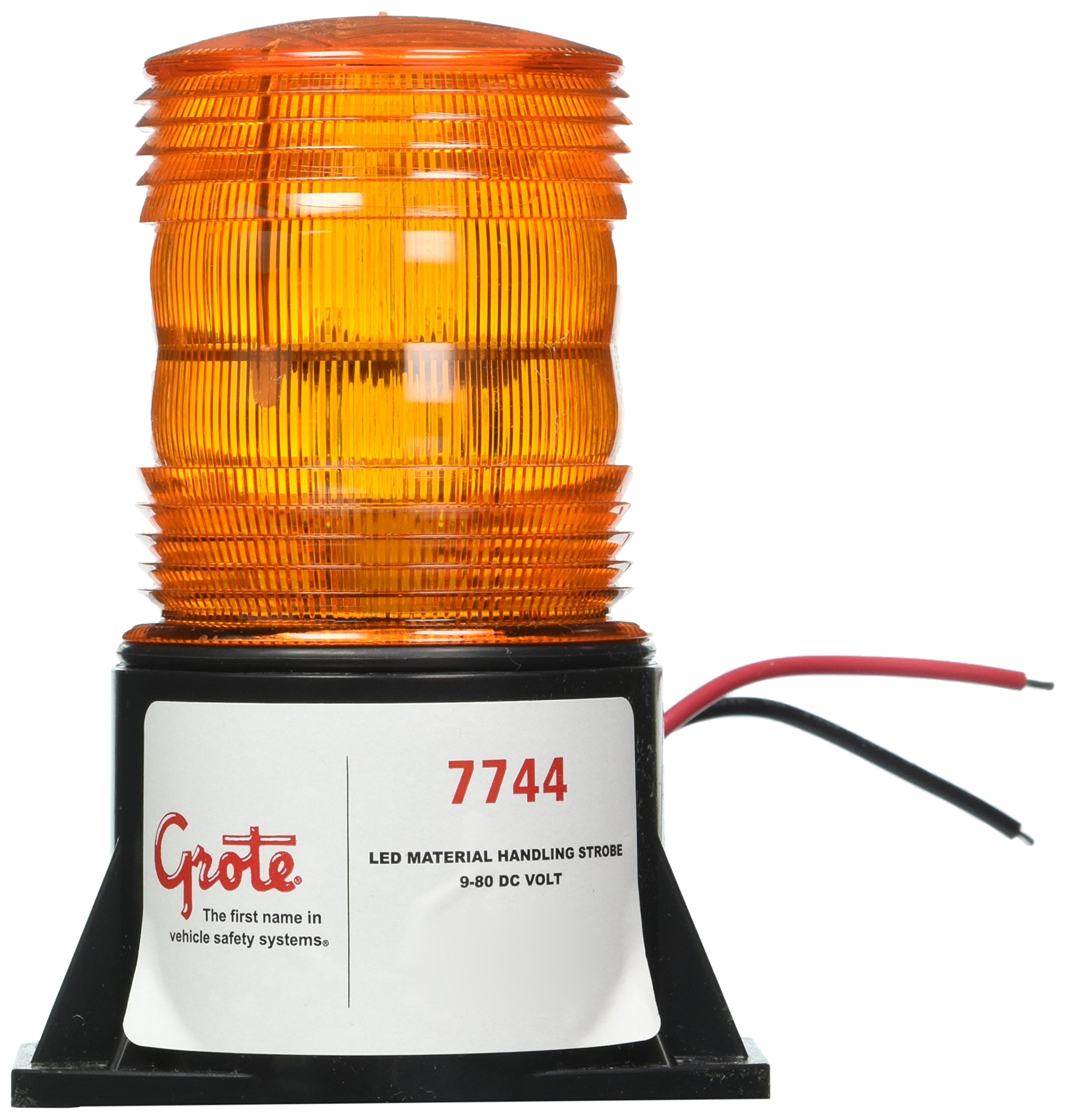 Grote 77443 Yellow LED Material Handling Strobe