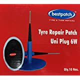 "Bestpatch UniPlug 1/4"" Plug Patch Combo for Tire Repairs (10 Box)"