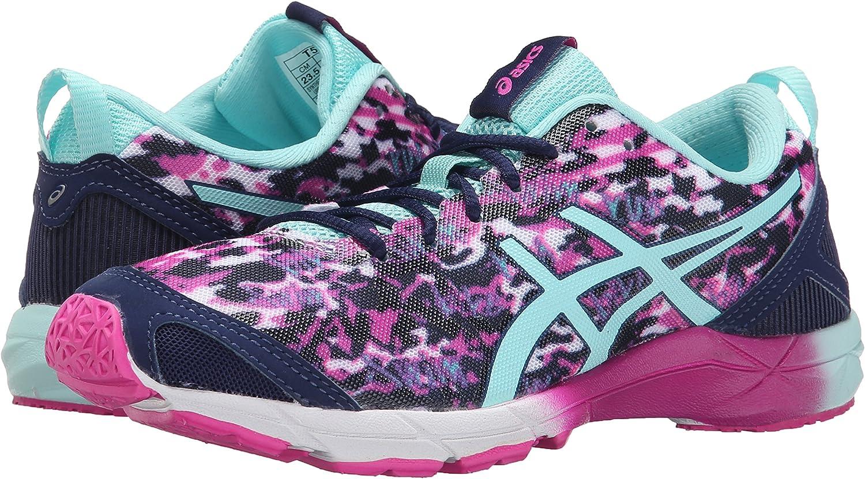 ASICS Zapatillas de running Gel-hyper Tri para mujer, Pink Glow / Aqua Splash / Navy, 11 M US: Amazon.es: Zapatos y complementos