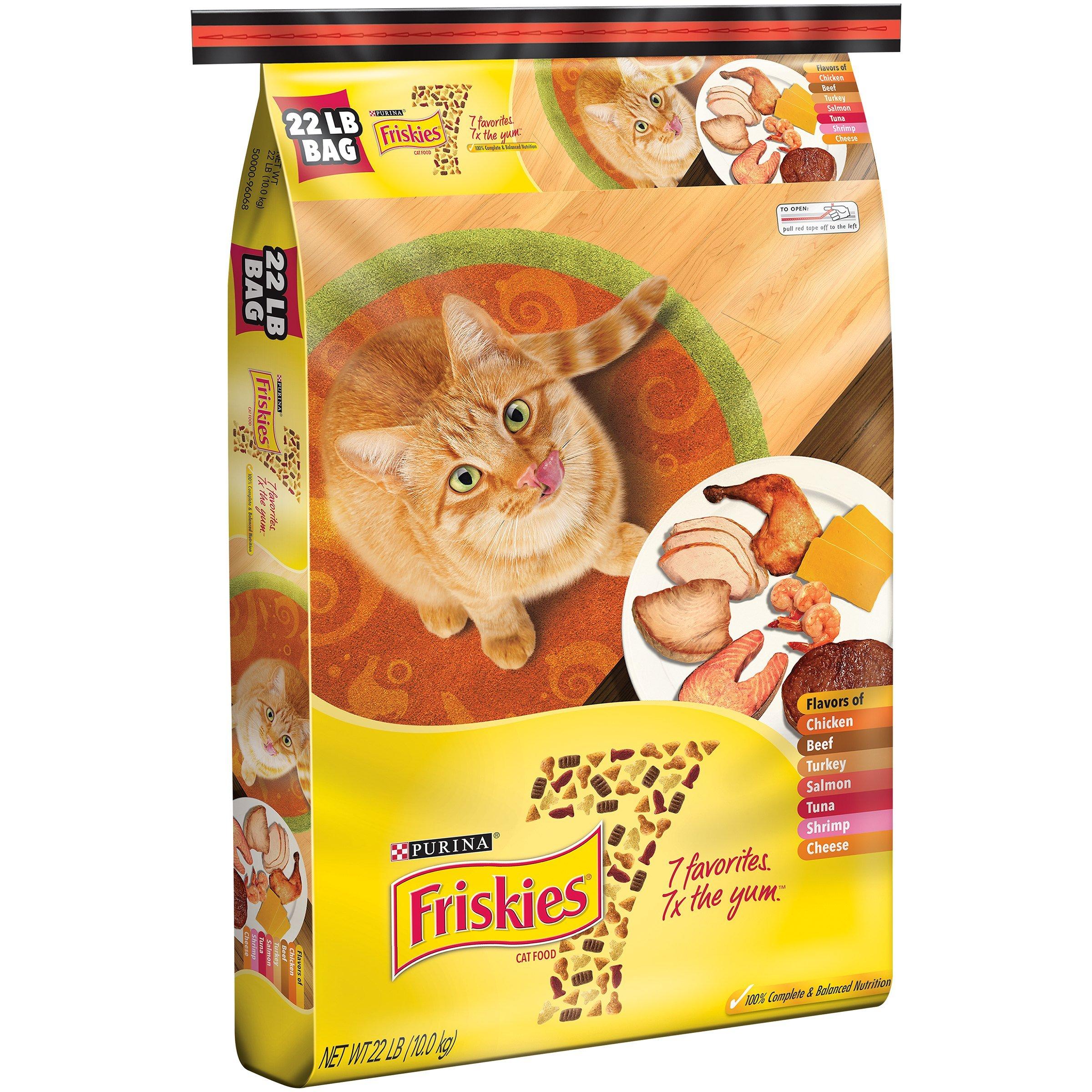 Purina Friskies 7 Cat Food 22 lb. Bag (1)