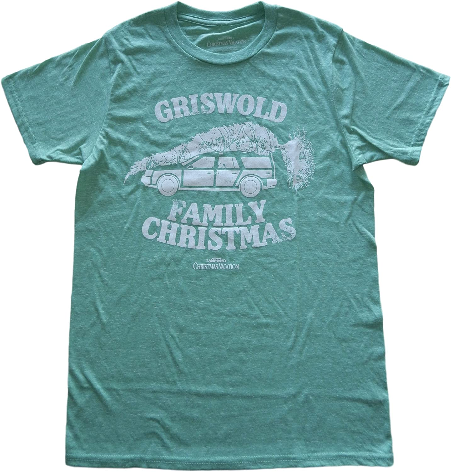 GRISWOLD FAMILY CHRISTMAS T-SHIRT National Lampoons Vacation XMAS Tee Top Mens