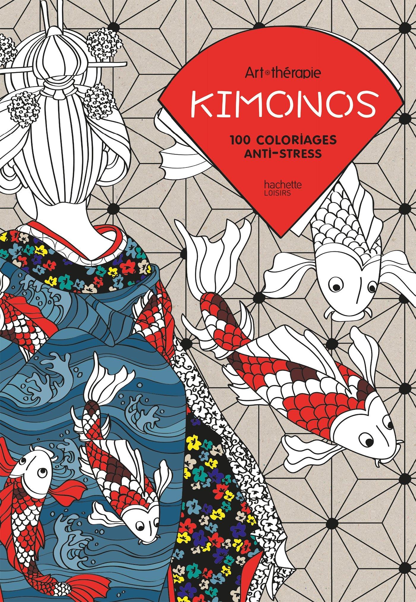 amazonfr kimonos 100 coloriages anti stress capucine sivignon livres