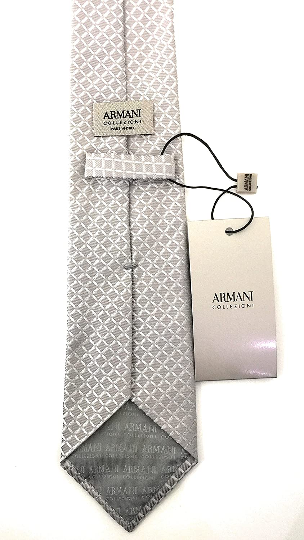 Armani JEANS - Corbata - para hombre Pearl Grey Talla única ...