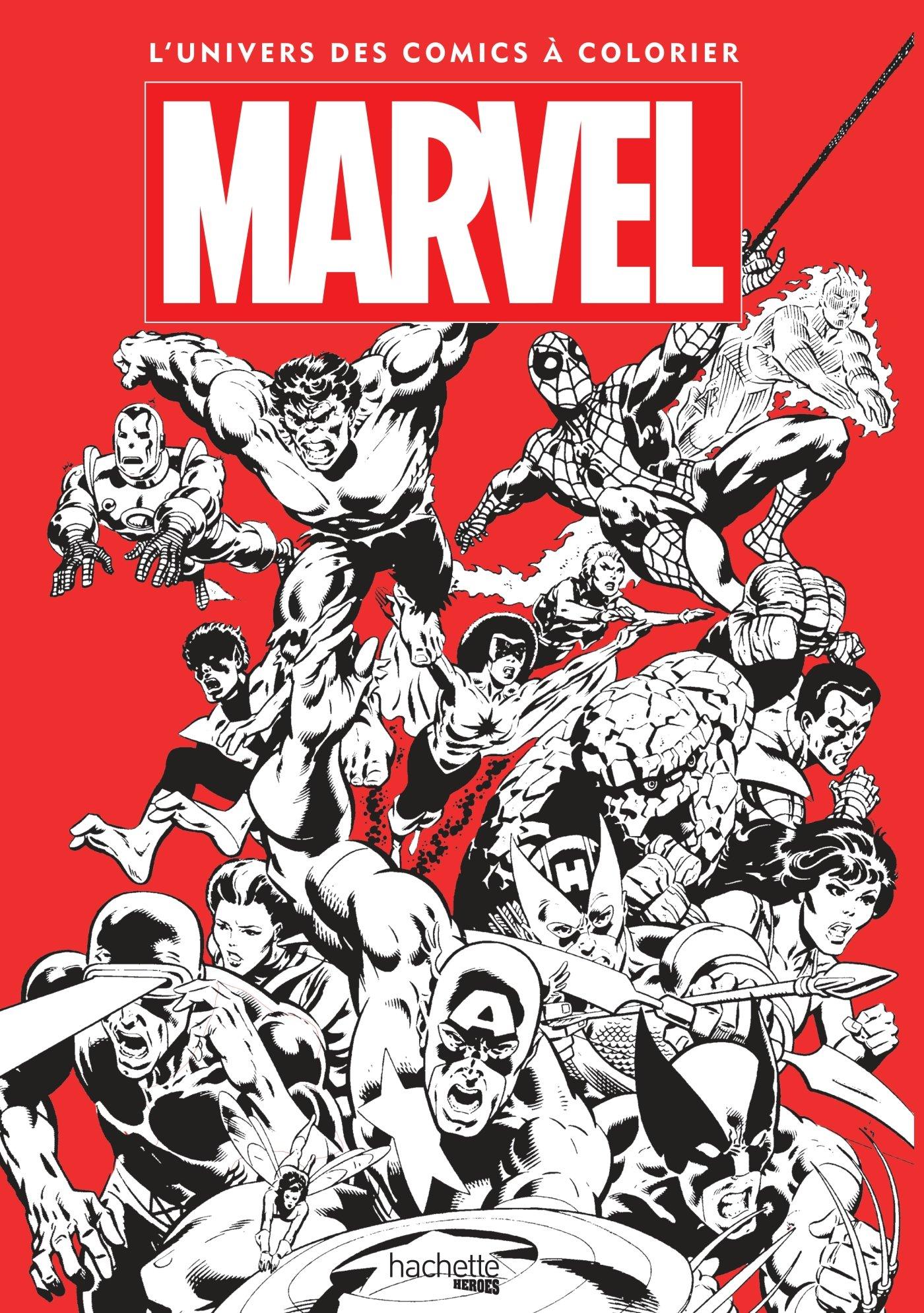 amazonfr marvel lunivers des comics colorier nicolas beaujouan marvel livres