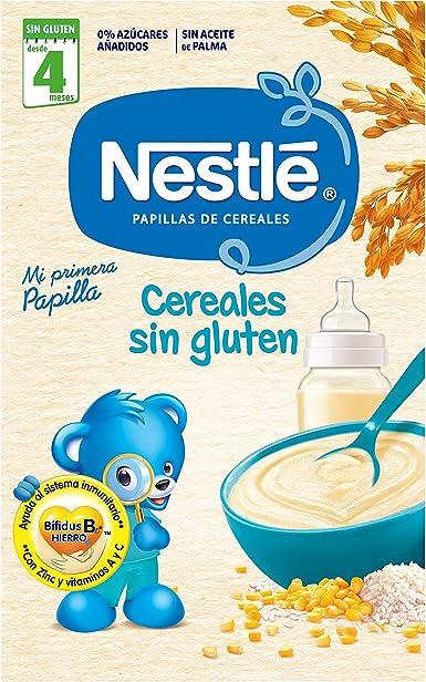 Nestle Papillas Cereales sin Gluten, Pack de 5: Amazon.es: Alimentación y bebidas