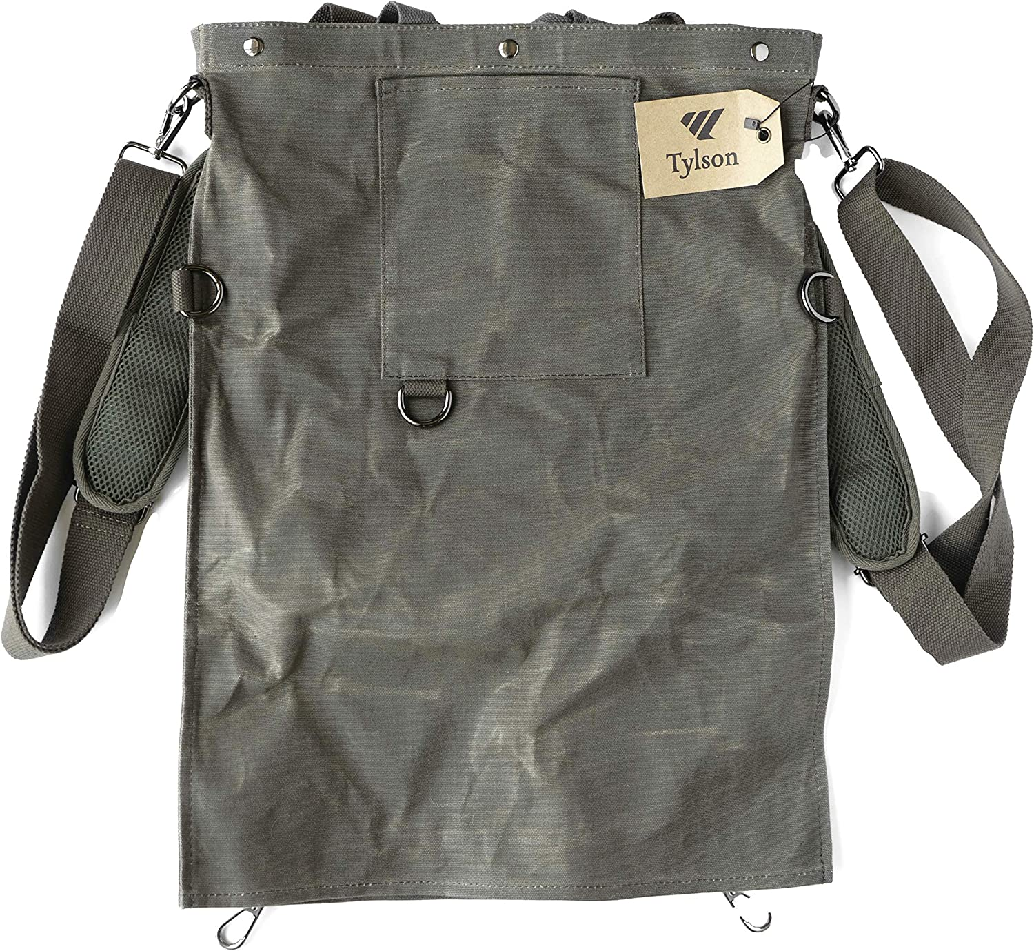 TYLSON - Harvest, Foraging & Fruit Picker Bag - Stylish & Built to Last - The Easy Alternative to a Fruit Tree Picking Apron or Gathering Basket - Perfect for Bushcraft & Garden Enthusiasts
