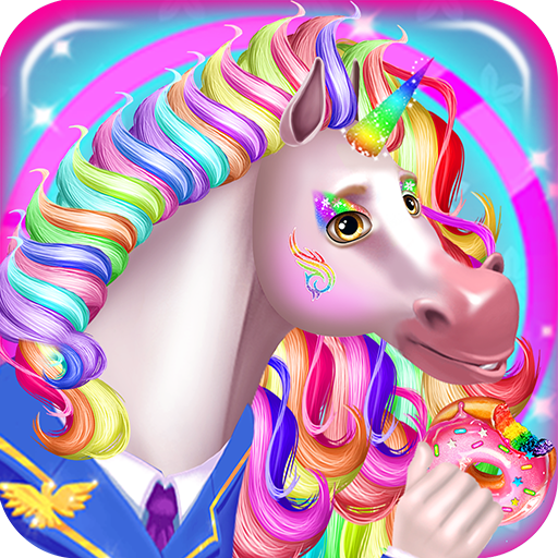 Pink Games (Unicorn Food Drink & Outfits - Discover a magical journey with this free adventure game)