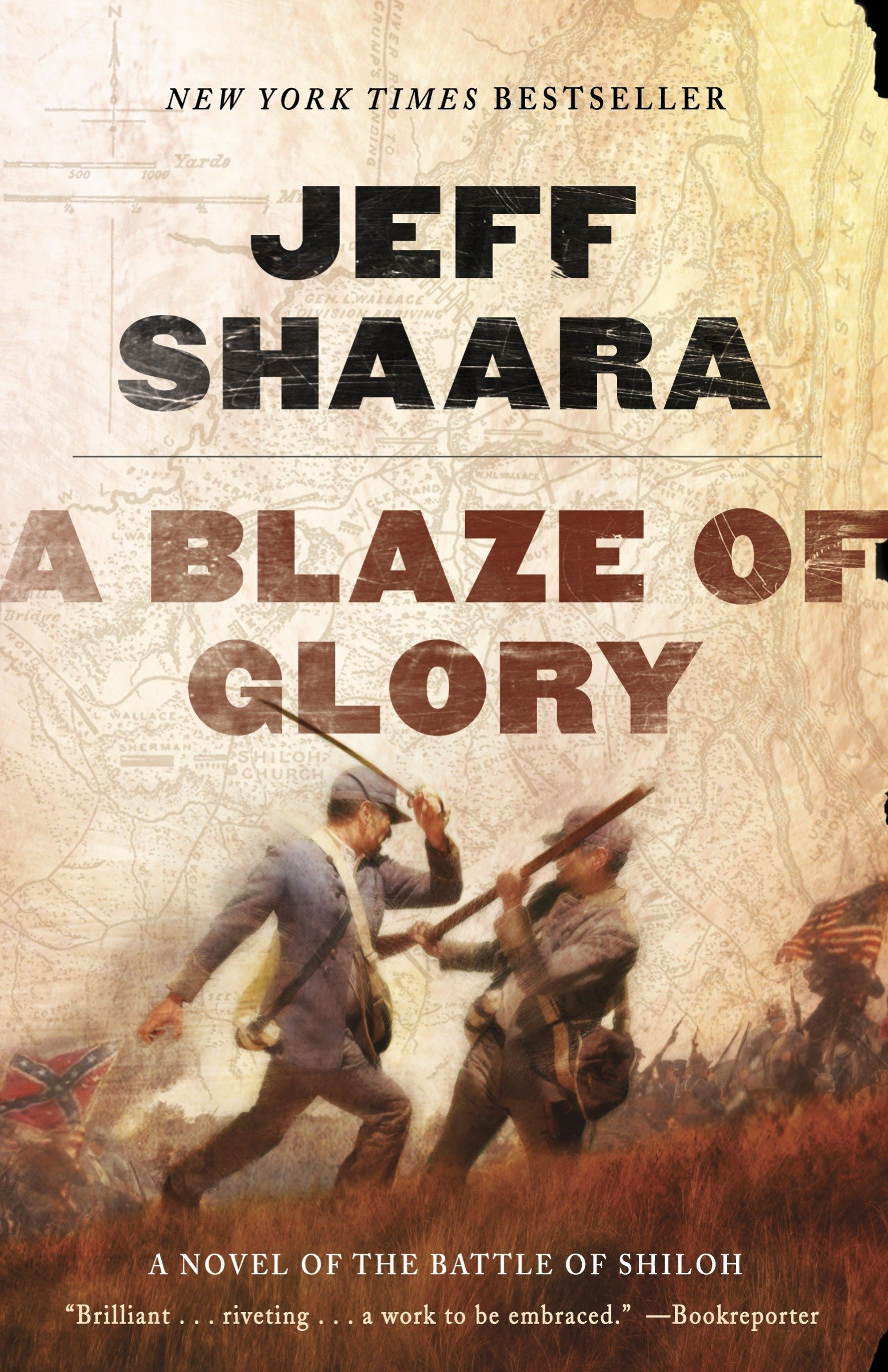 Download A Blaze of Glory: A Novel of the Battle of Shiloh (the Civil War in the West) PDF