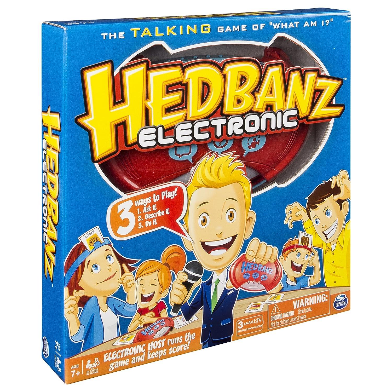 Unbekannt Spiele 6040223Hedbanz Elektronische Spiel Spin Master Toys Ltd