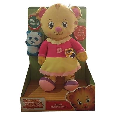 Daniel Tigers Neighborhood Talking Baby Margaret Plush, 12 inch: Toys & Games