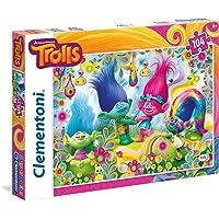 Clementoni 27967 - Puzzle Trolls Trolls, 104 Pezzi