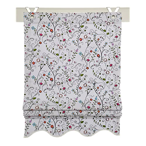 Floral Roller Blinds Amazon Co Uk