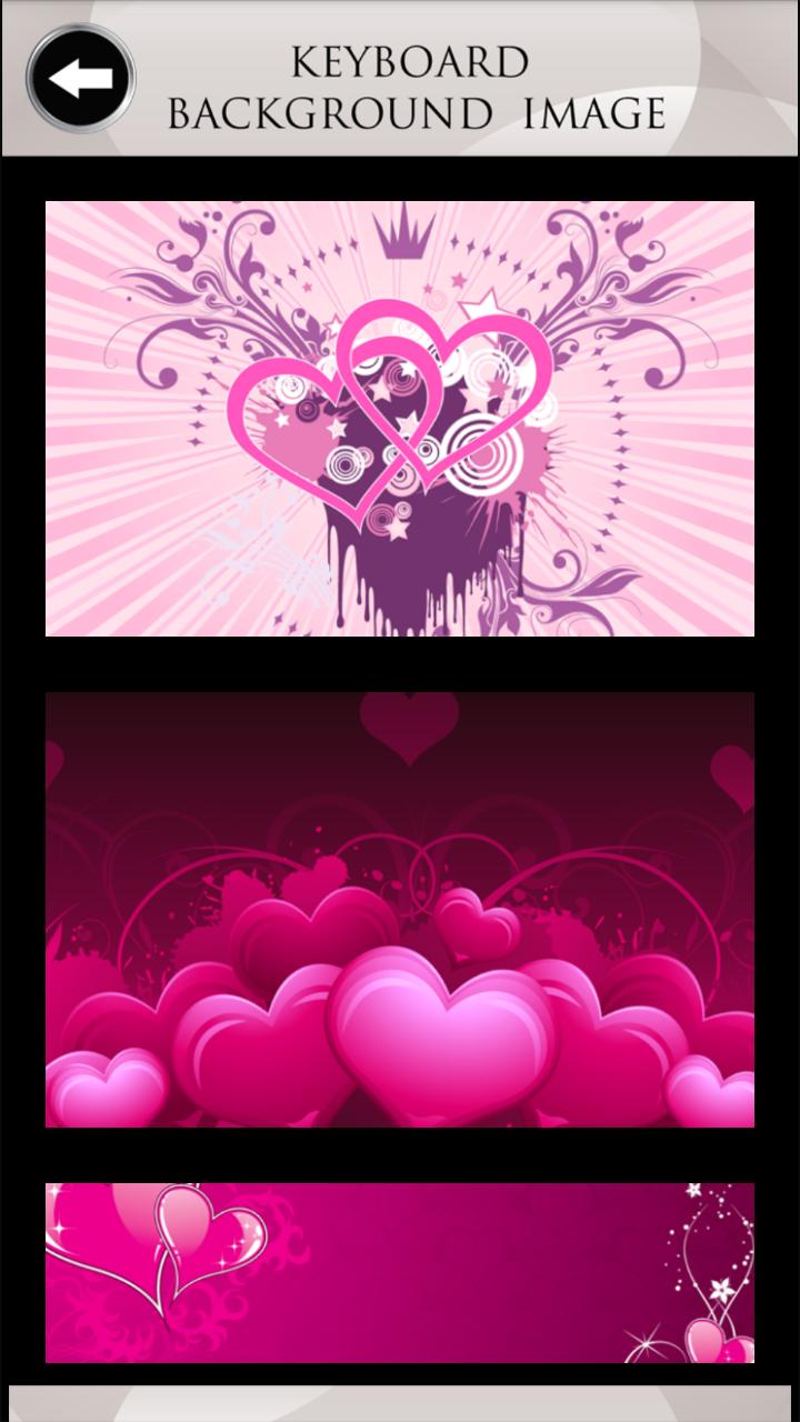 Teclados de Amor Rosa