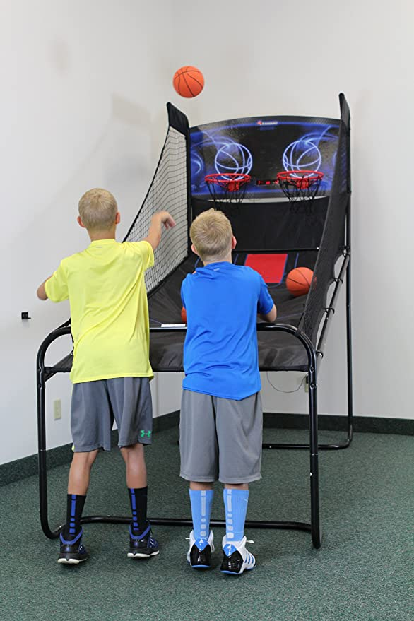 ATOMIC Double Shootout Basketball Arcade Game M01474AW for sale online