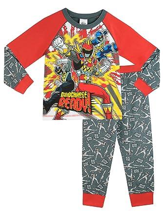 Power Rangers - Pijama para Niños - Power Rangers Dino ...