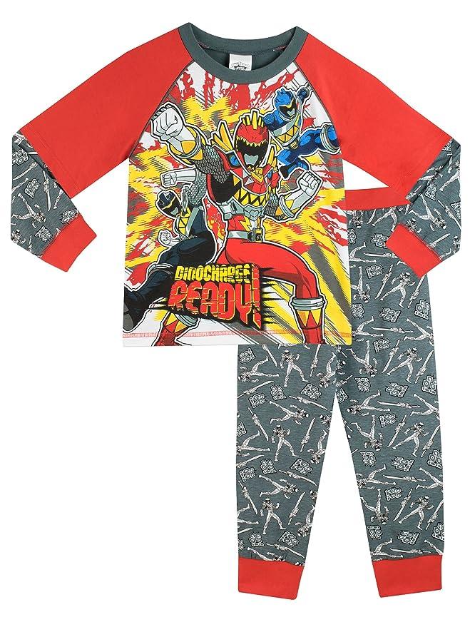 Power Rangers - Pijama para Niños - Power Rangers Dino Charge - 4-5 Años: Amazon.es: Ropa y accesorios