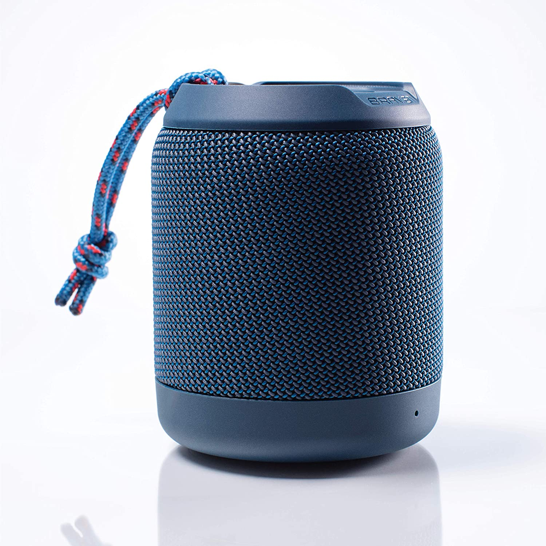 Braven BRV-Mini - Waterproof Speaker - Rugged Portable Wireless Speaker -  8 Hours of Playtime - Blue