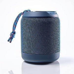 Braven BRV-Mini - Waterproof Speaker - Rugged Portable Wireless Speaker - 12 Hours of Playtime - Blue