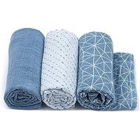 Urban Kanga Zachte mousseline doek 70 x 70 cm luiers hydrofieldoeken spuugdoeken stoffen luiers voor baby - verpakking…
