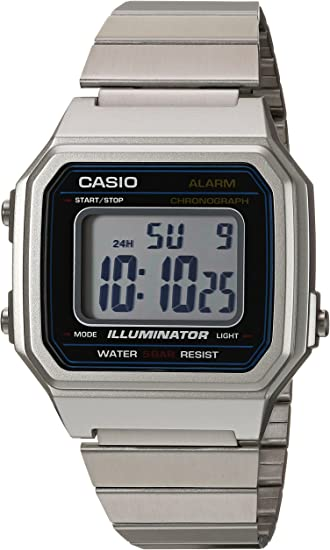 : Casio B650WD 1ACF Reloj de cuarzo clásico para