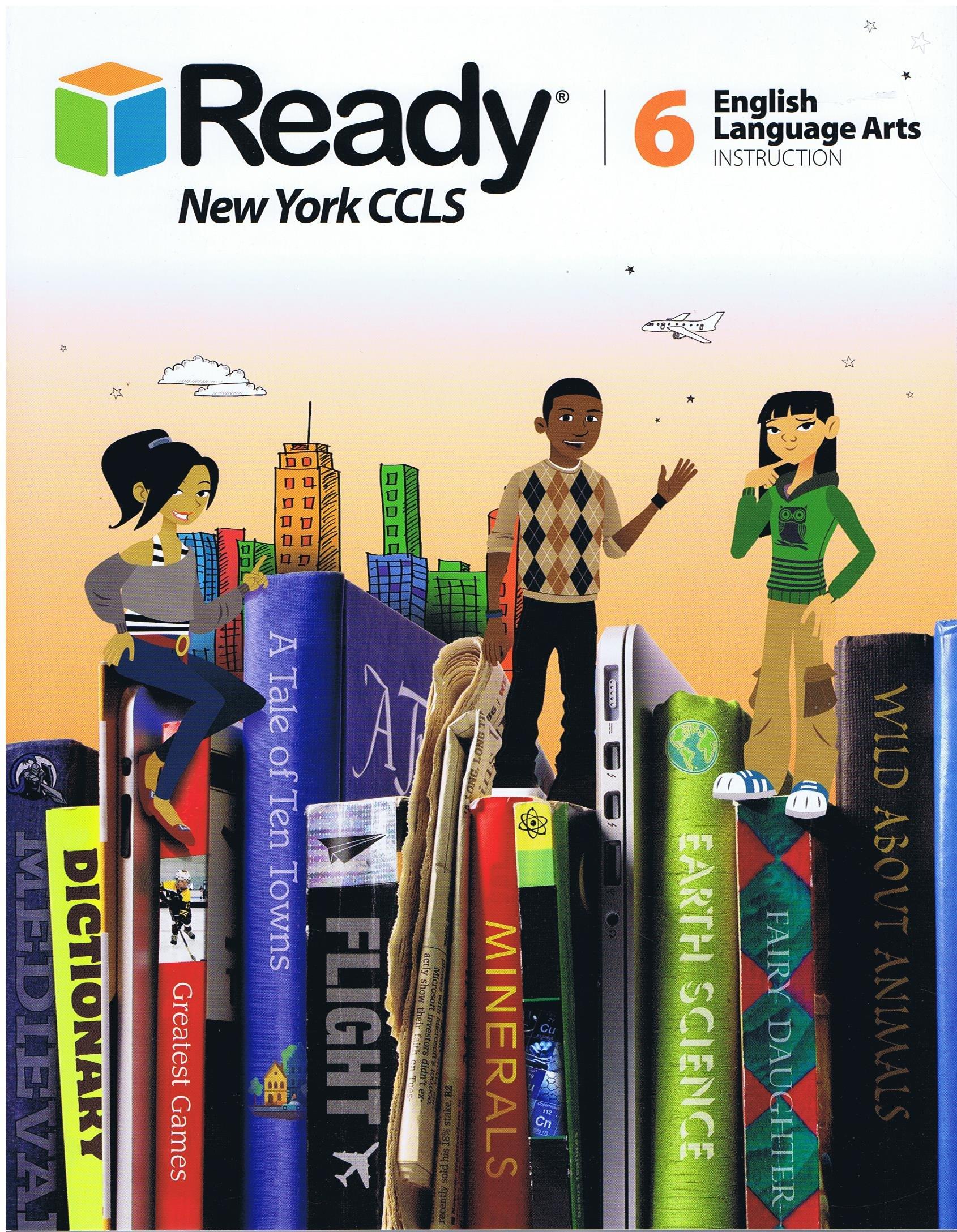 Amazon.com: 2014 Ready New York CCLS Common Core ELA Instruction Grade 6 ( Ready) (9780760983935): Books