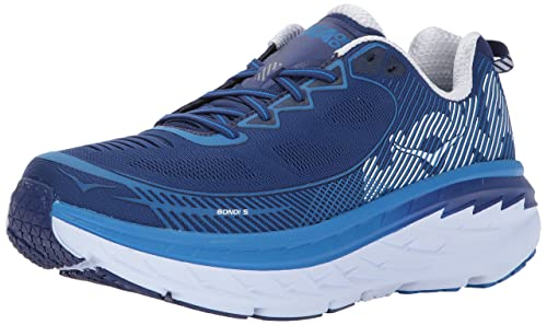 Hoka one one Bondi 5, Zapatillas de Running Hombre, (Blueprint/White), 42 EU: Amazon.es: Zapatos y complementos