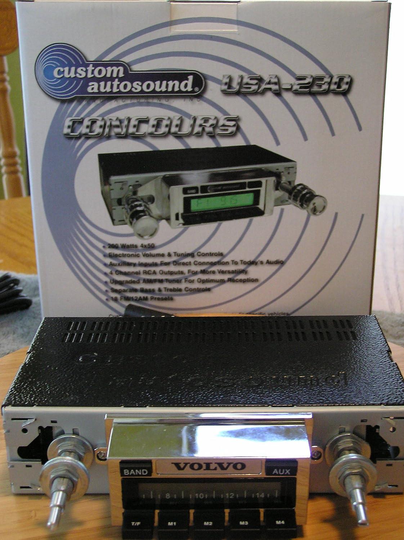 1969-1977 Chevrolet Camaro Custom Autosound USA-230 AM//FM Stereo Radio 200 watts
