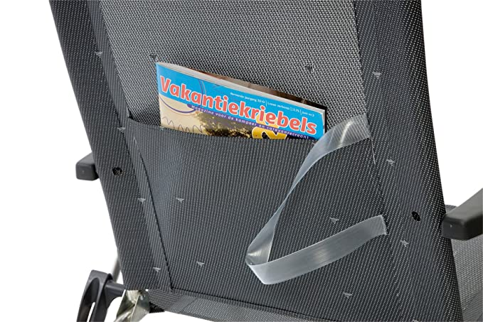 Amazon.com: Crespo - Beach Chair - AL-205 - Dark Grey (40 ...