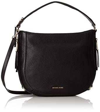 99ab52d6a4 MICHAEL Michael Kors Julia Medium Convertible Shoulder Bag (Black ...
