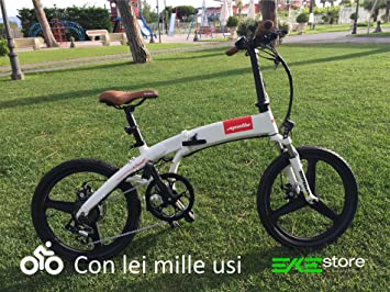 Bicicleta electrica plegable smart s2