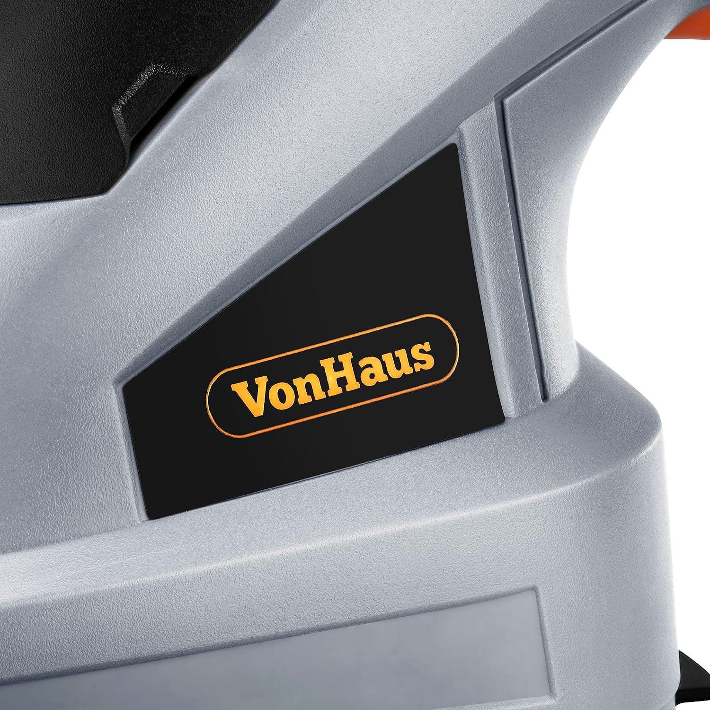 VonHaus Tijera Arreglasetos 2 en 1 7,2 V – Hojillas Intercambiables, Mango Telescópico Y Accesorios – Batería y Cargados incluidos