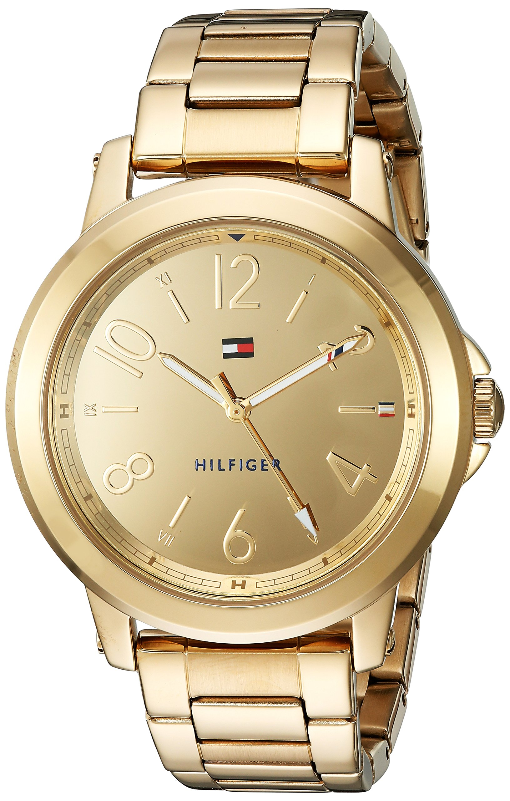 Tommy Hilfiger Women's 'SPORT' Quartz and Stainless-Steel Casual Watch, Color:Gold-Toned (Model: 1781751) by Tommy Hilfiger