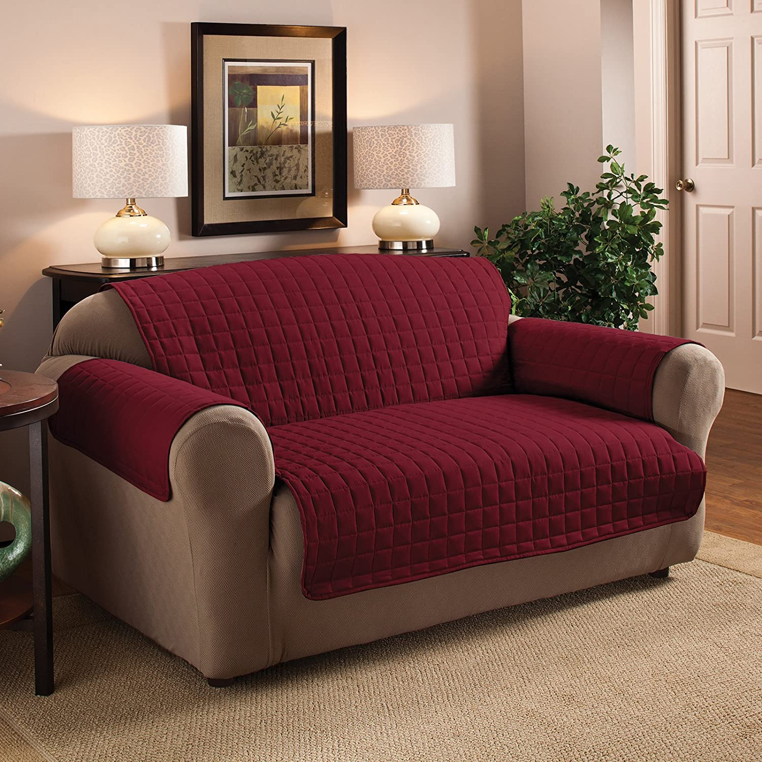 Amazon Sofa Slipcovers Home & Kitchen