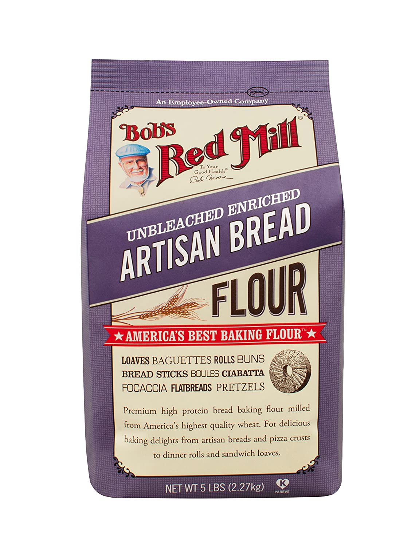 Bob S Red Mill Artisan Bread Flour 80 Ounces Grocery Gourmet Food