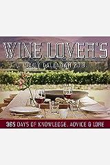 Wine Lover's Daily Calendar 2018 Calendar
