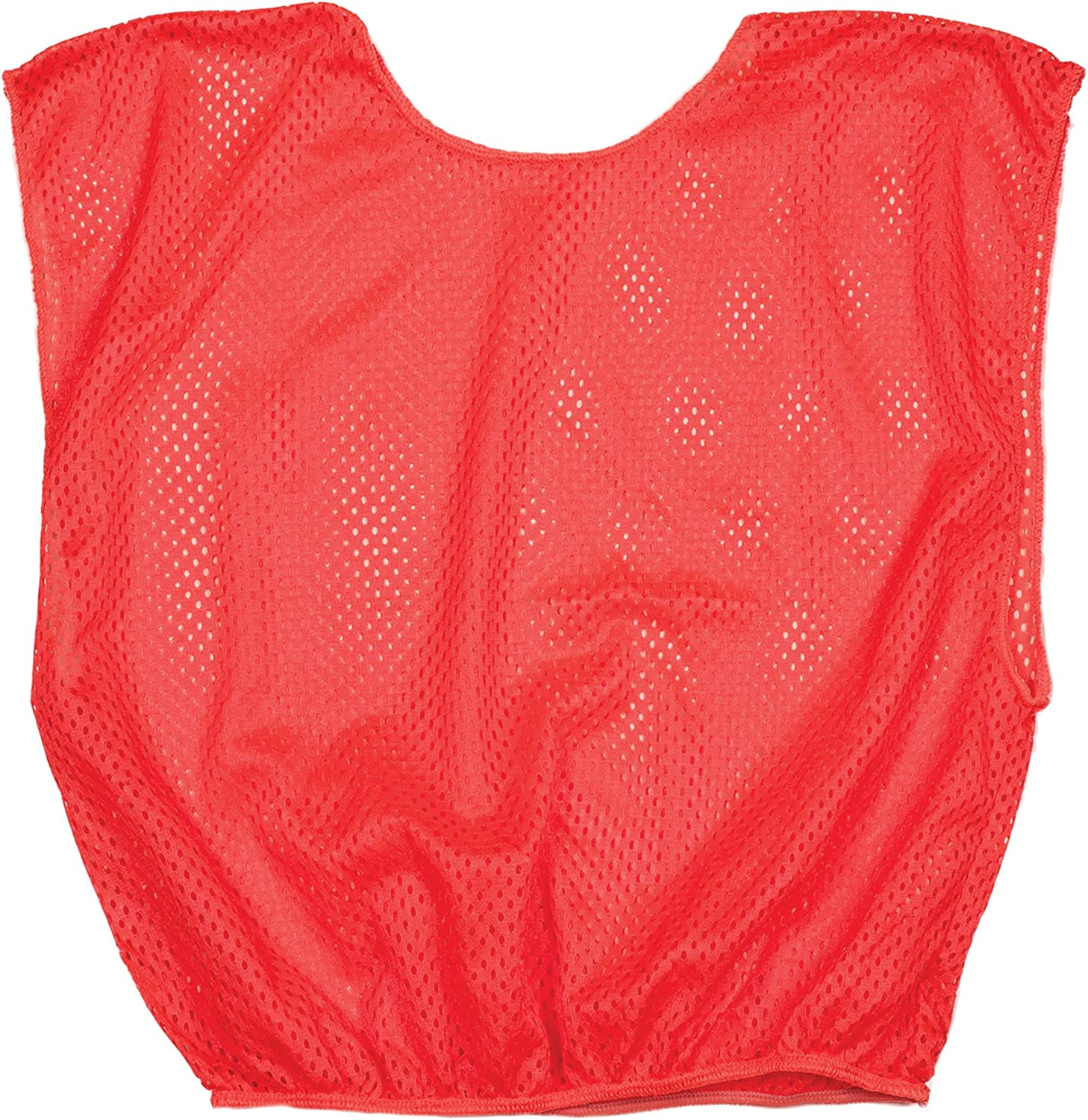 Champion Sports Youth Mesh Practice Scrimmage Vest Pack of 12 Neon Green