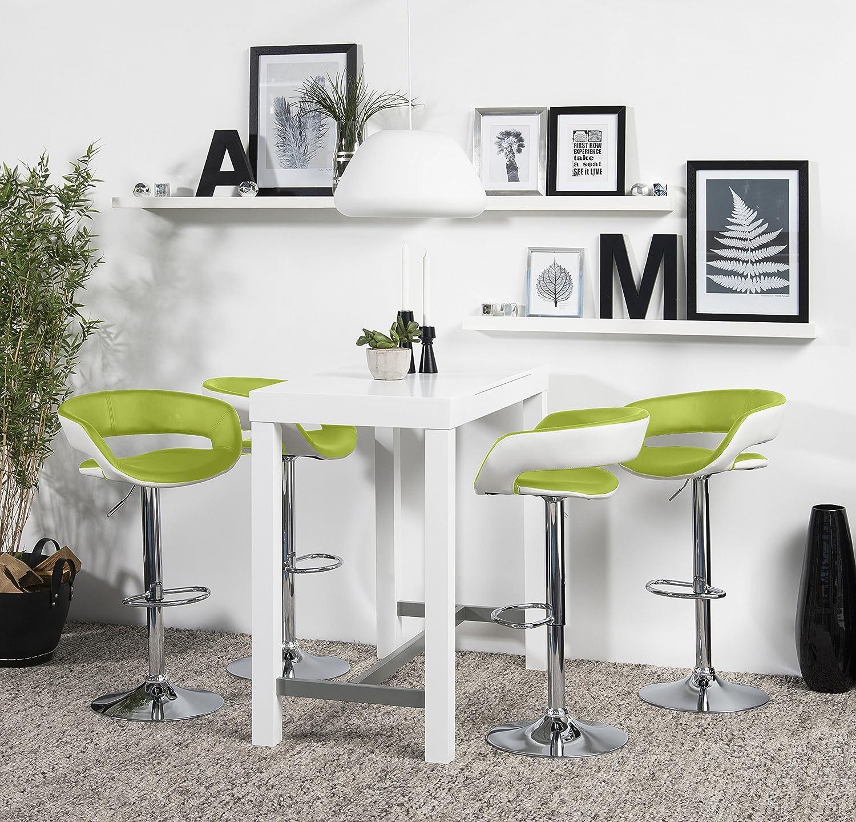 AC Design Furniture 0000058026 Barhocker Jack 2er Set, Sitz, Rücken ...