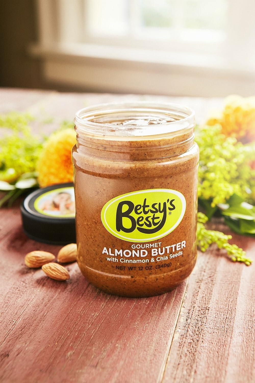 Mantequilla de almendra gourmet de Betsys Best - AWARD ...