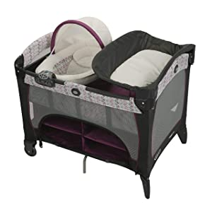Graco Pack 'n Play Newborn Seat DLX Playard, Nyssa