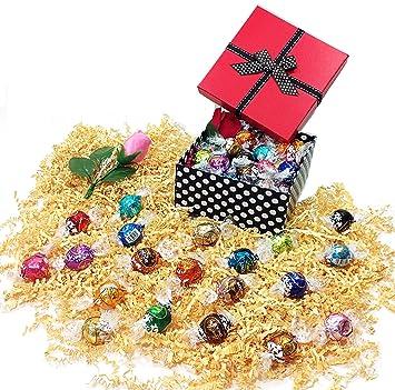 Amazon Com Polka Dot Easter Or Mothers Day Gift Basket Box