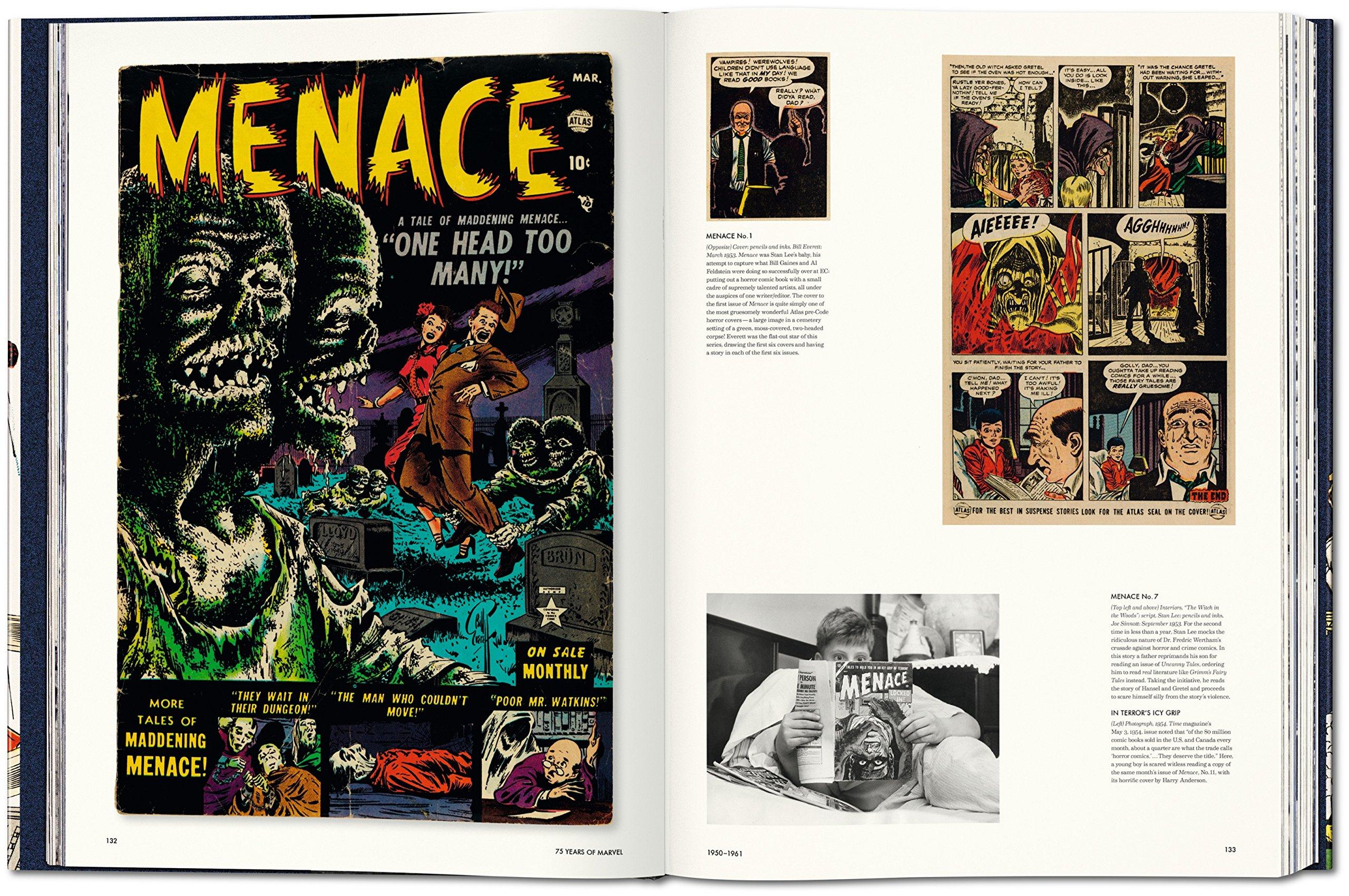 marvel comics 75 anos de historia grafica