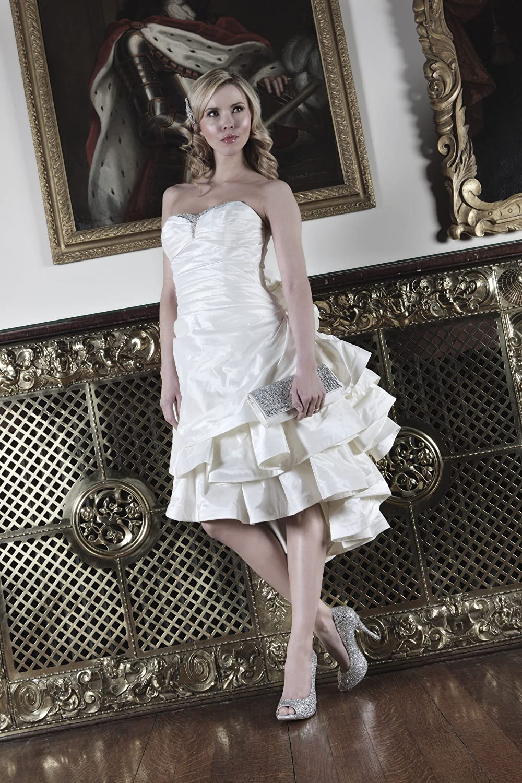 Benjamin Adams Jolie - Cartera de mano de Seda para mujer Hueso marfil: Amazon.es: Zapatos y complementos