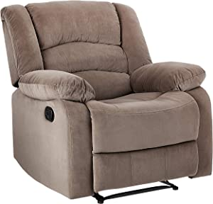 JC Home Recliner, one size, Brown