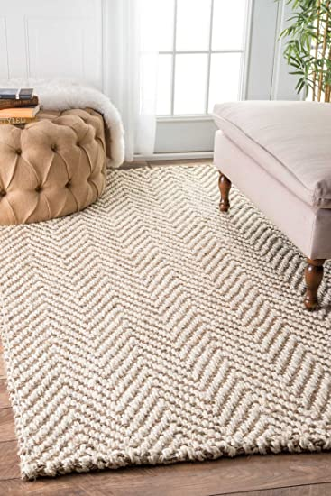 handwoven jute jagged chevron area rugs 4x6 canada kohls lowes
