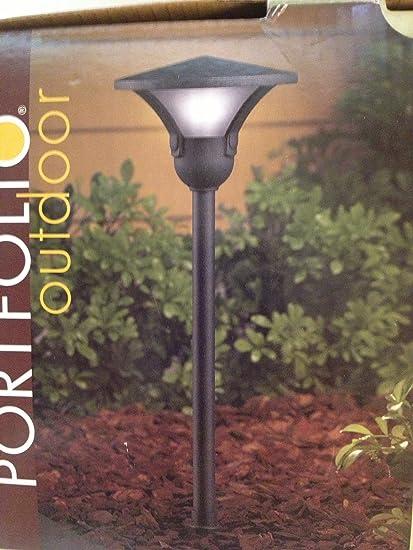 Portfolio Outdoor Black Low Voltage 11 Watt Landscape Light