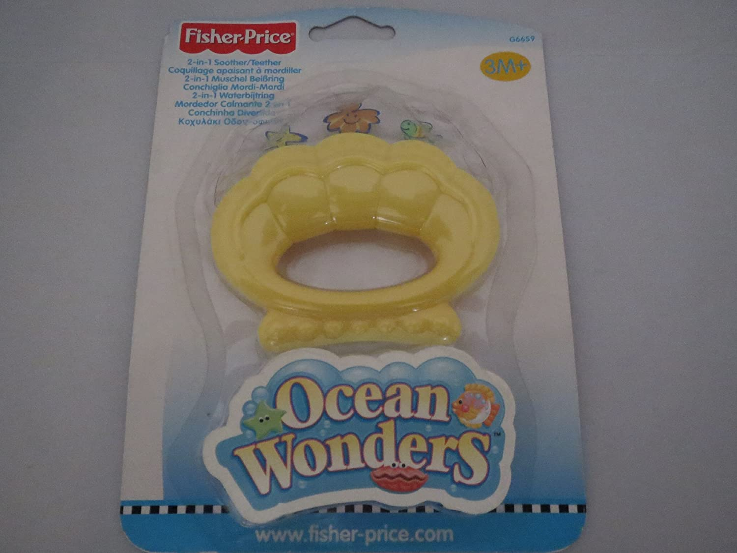 Fisher Price Ocean Wonders 2-in-1 Soother/Teether by Fisher-Price   B000TLV5VI