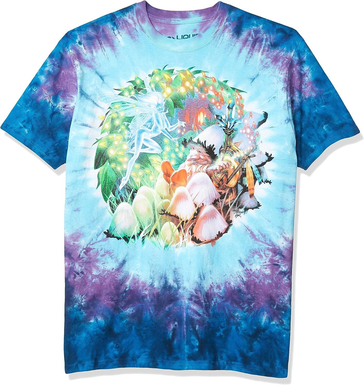 Liquid Blue Men's Mushroom Garden T-Shirt
