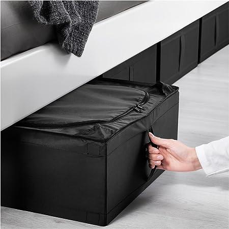 IKEA Underbed almacenamiento caso: Premium fabricación debajo de la cama de almacenamiento organizador/transpirable, plegable, apilable