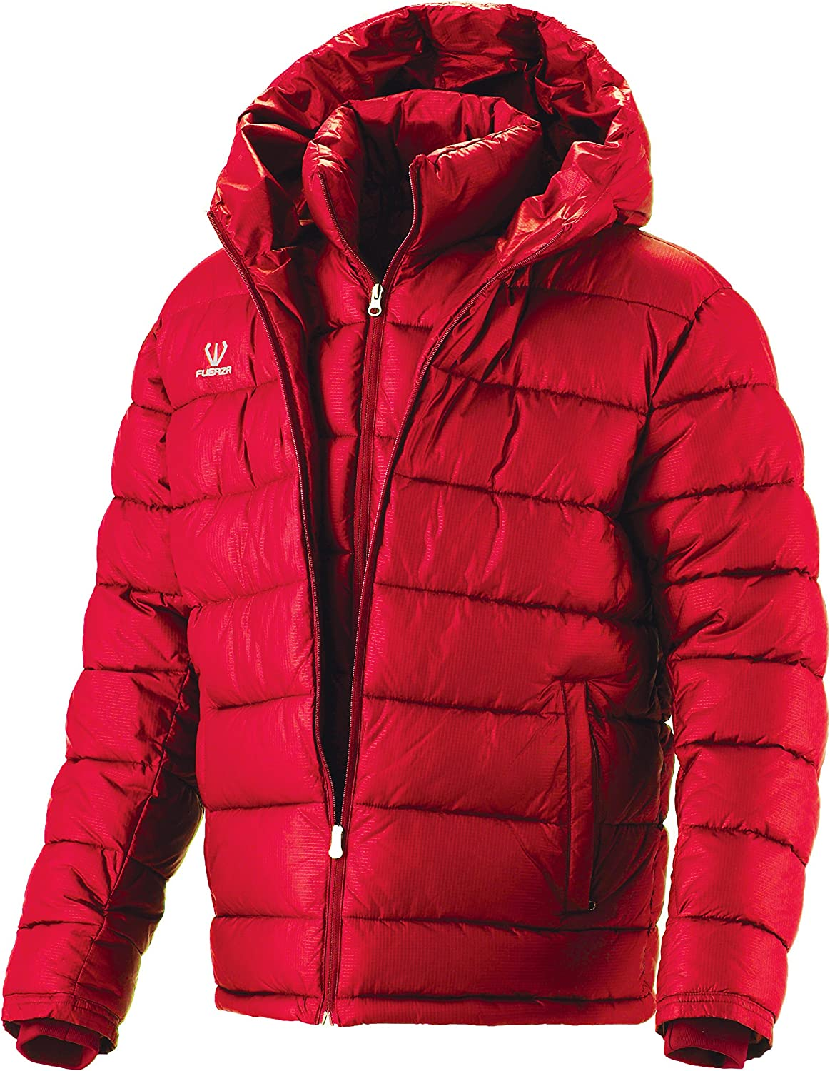 Fuerza Mens Winter Down Wellon Collection Hooded Double Layer